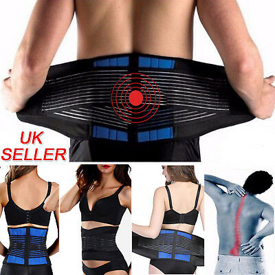 Medical Heat Waist Belt Brace For Lower Back Pain Relief Therapy Support Holder