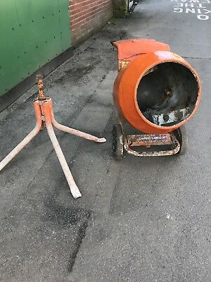 Belle Petrol Cement Mixer Honda Gx50 Engine Concrete Mixer With Stand Gwo