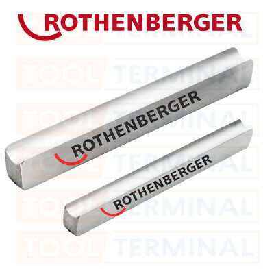 Rothenberger 15mm 22mm Pipe Bender Guides Replacement & Bag 8.0175 8.0178