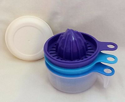 TUPPERWARE EZ PREP (citrus juicer, zester, egg sepa) USE WITH EZ PREP MIX N POUR