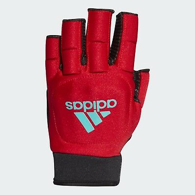 Adidas Hockey OD Gloves for Field Hockey Padded material snug fit in Blue or Red