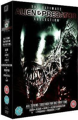 The Ultimate Alien Predator Films Collection Previously Viewed 7 Movies 7 Dvd