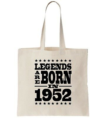 Birthday Tote Bag Legends Are Born In 1952 Sixty Seven 67th Cool Gift 67 Shop