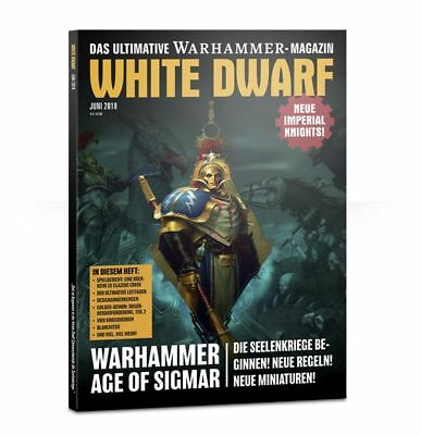 White Dwarf Juni 2018, Deutsch, Warhammer 40k, Age of Sigmar, Games Workshop