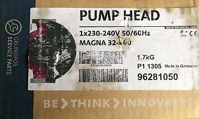 Grundfos Magna UPE 32-100 F N Replacement Head motor 96281050 #895