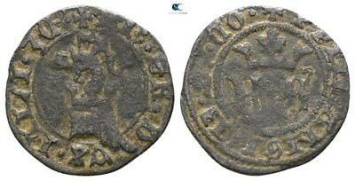 Savoca Coins Italy Milano Medieval Coin Dragon Helm 0,86g/15mm $KBP3171