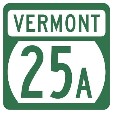 Vermont State Highway 2A Sticker Decal R5261 Highway Route Sign
