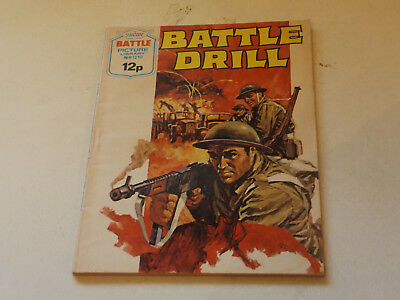 BATTLE PICTURE LIBRARY NO 1210,dated 1978!,V GOOD FOR AGE,VERY RARE,40 yrs old.
