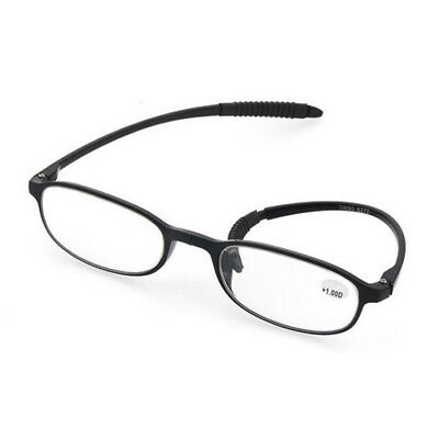 Unisex Ultra-Light Presbyopic Glasses Strength 2.0-3.5 Reading Glasses Black