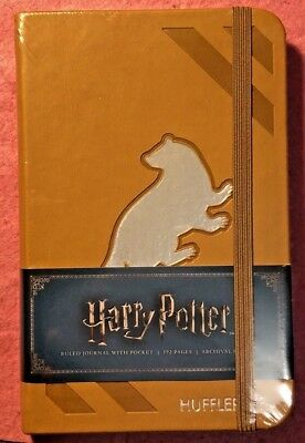 Harry Potter Hufflepuff Ruled Pocket Journal  - Officially Licensed Insights
