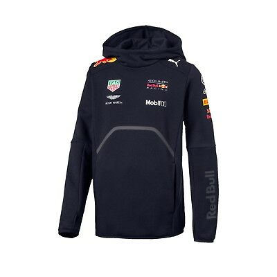 Aston Martin Red Bull Racing Kids Team Hoodie - Kapuzen Sweater - 2018  *