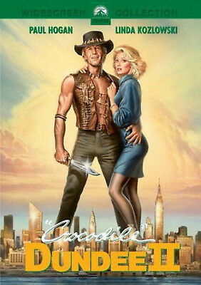 CROCODILE DUNDEE PART 2 DVD Paul Hogan sequel 2nd movie film II UK Rel New R2