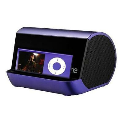 iHome iHM10 Speakers ‑ for Portable use ‑ Purple