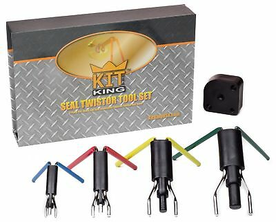 Kit King - Rod Seal Install Tool Set - 5 Piece Hydraulic U-Cup Twistor Instal...