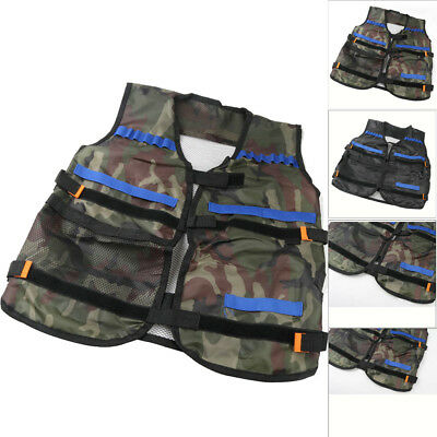 Children Tactical Vest Kids Thin Jacket Tactical For Nerf N-Strike Elite Series