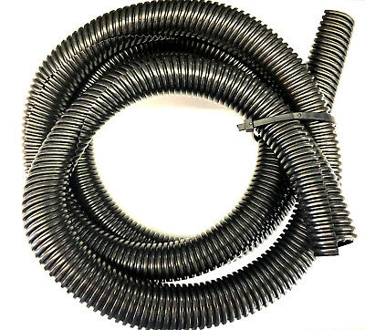 5ft Black Split Loom 3/4'' Diameter, 5 feet 3/4'' Flexible Convoluted Tubing