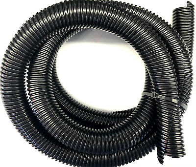 5ft Black Split Loom 1'' Diameter, 5 feet 1'' Flexible Convoluted Tubing
