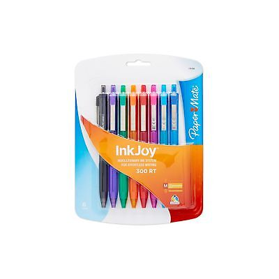 Paper Mate InkJoy Ballpoint Pen, Assorted Colors, 8-Count Retractable 8-Pack