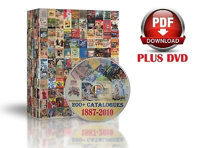 200+ Catalogues On Dvd In Pdf Format  Antique Collectible