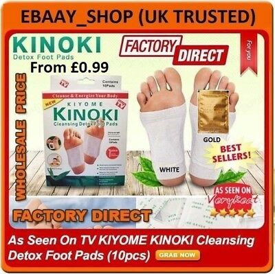 ✅Genuine KINOKI Detox Foot & Body Pad Remove Toxins Herbal Slim Body Weight Loss