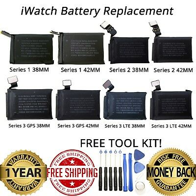 OEM Original Apple Watch Series 1, 2, & 3 38MM 42MM Repair Replacement Battery