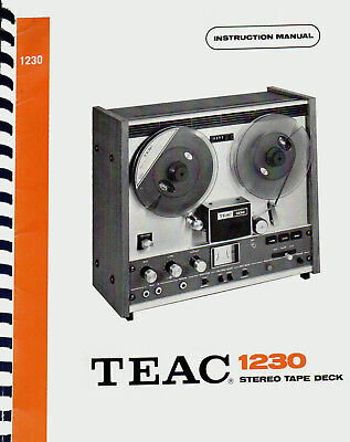 TEAC A-1600 owner instruction manual