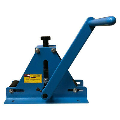 69 METZ TOOLS Bench Mounted Ring Roller Flat Bar Square Tube/Pipe Roll Bender