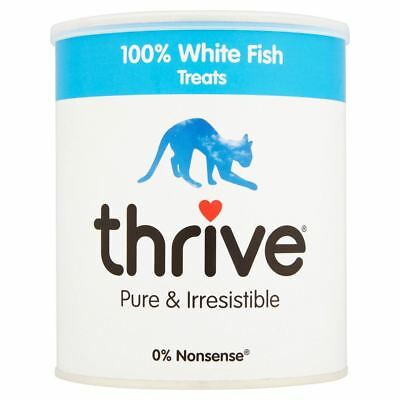 Thrive 100% White Fish Cat Treats MaxiTube 120g