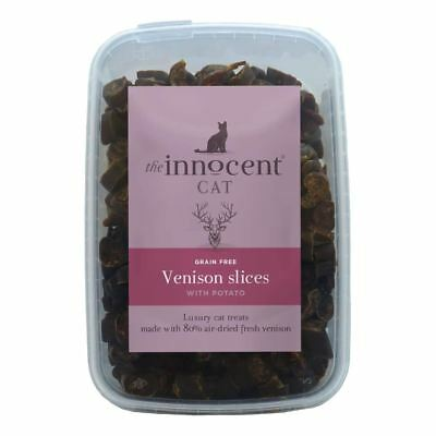 The Innocent Cat Venison Slices Treats 600g