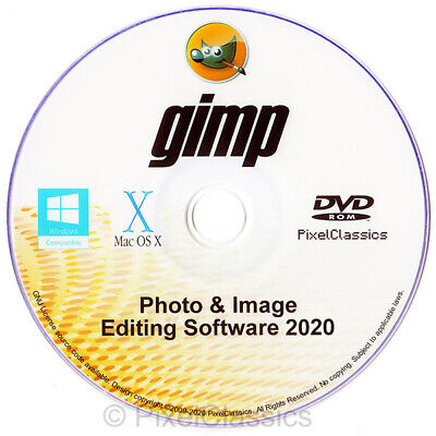 GIMP 2018 Photo Editor Professional Premium Pro Editing Image Software Mac OS X.