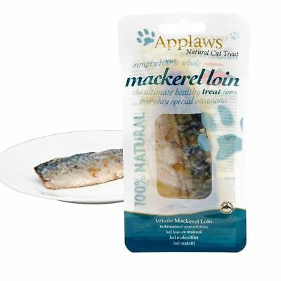 Applaws Whole Mackerel Loin Natural Cat Treat 12 x 30g