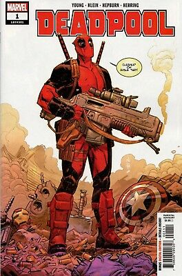 Deadpool #1 (2018) 1st Print Cover A $4.99 Cover Price NM 6/6/18 B125