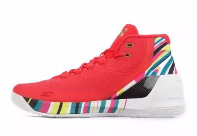 3de17d028c46 Under Armour UA Steph Curry 3 Chinese New Year Men s Size 8 CNY 1269279-984