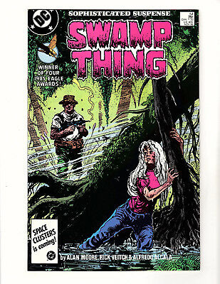 Swamp Thing #54 (1986, DC) VF+ Vol 2 Alan Moore Steve Bissette Rick Veitch