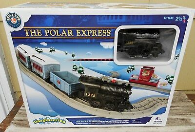 Lionel The Polar Express Santas Toy Factory Train Set New In Box Imagineering