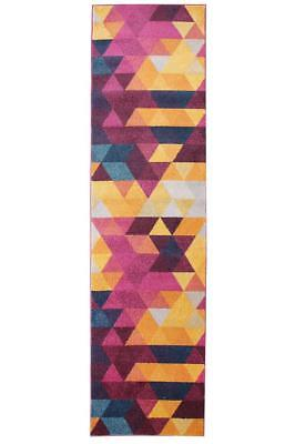 Hallway Runner Rug Hall Runner Modern Mat Carpet Non Shed Multi FREE DELIVERY