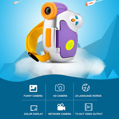 Kids Photography Digital Camera Record 720P Portable Photo Gift Digital Video