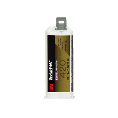 3M DP420NS Scotch-Weld Epoxy Adhesive, Black, 50mL