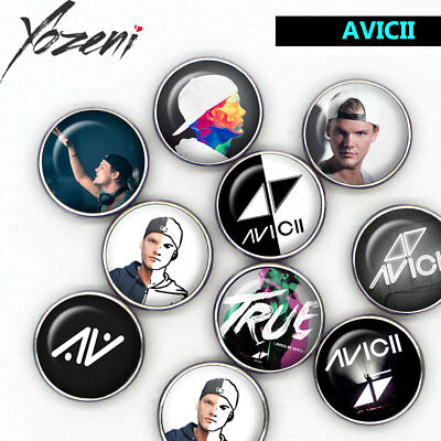"Boutons-pression ""Avicii"", Chunks, Snap Buttons, interchangeable"