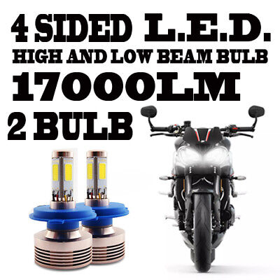 Led Headlight Bulb Triumph Street Triple 2011,2012,2013,2014,2015,2016,2017,2018