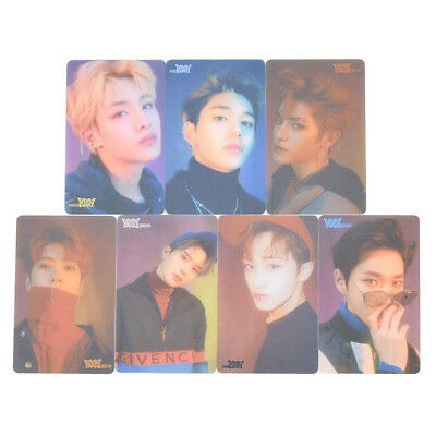 NCT U Transparent Photo Cards PVC Photocards Kpop Star Fans Collections Hot 7pcs