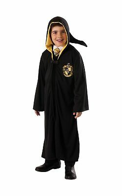 Childs Rubies Official Licensed Harry Potter Hufflepuff Hooded Robe Fancy Dre...