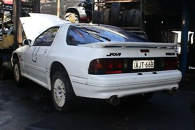Wrecking RX7 Turbo II 200 hp Series 5 FC 9.0:1 Manual Parts RWD White 1985–1988