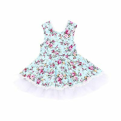 a611c08cb YOHA Baby Girls Floral Lace Tutu Tulle Dress Birthday Tutu Kid Girls Party  Dr..