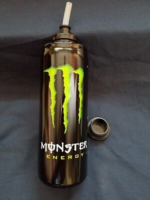 Monster Energy Drink Bottle With Straw