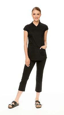 Spa Tunic Beauty Salon Uniform Ladies Womens Local AU Seller Free Post