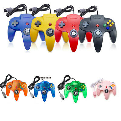 Wired N64 Controller USB PC Gamepad Joystick for Ultra 64 Video Game Console