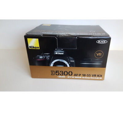 Nikon D5300 AF-P DX 18-55mm f/3.5-5.6G VR Lens Black Multi