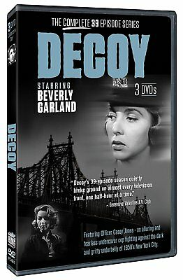Decoy (1957-1958) Complete Television Series B&w Collection New 3 Dvd Edition R4