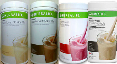 2 x Herbalife Shake mix Formula 1 New AUSSIE Stock choose any flavor